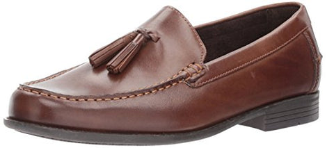 Cole Haan Men's Dustin Tassel II Loafer, Java Leather, 10 Medium US