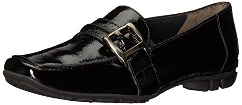 Paul Green Women's Newtron Oxford, Black Crinkled Patent, 8.5 Medium US