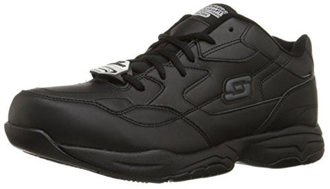 Skechers for Work Men's Felton Walking Shoe, Black, 9.5 M US