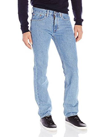 Levi's Men's 505 Regular Fit Jean,Light Stonewash,36x32
