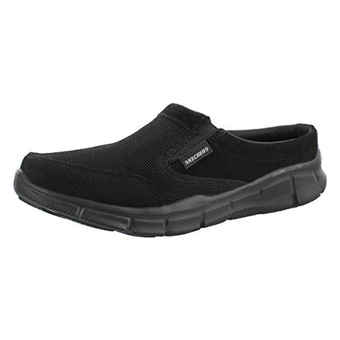 Skechers Sport Men's Equalizer Coast To Coast Mule, Black, 8.5 M US