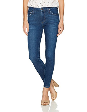 James Jeans Women's Twiggy Skinny Ankle Jean in Victory, Victory Blue, 27