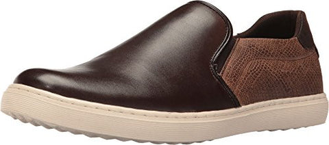 Steve Madden Men's Gallagher Fashion Sneaker, Brown, 10.5 M US