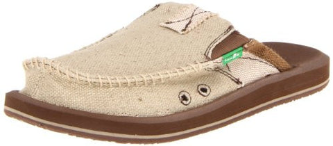Sanuk Men's You Got My Back II Slip On, Tan, 10 M US