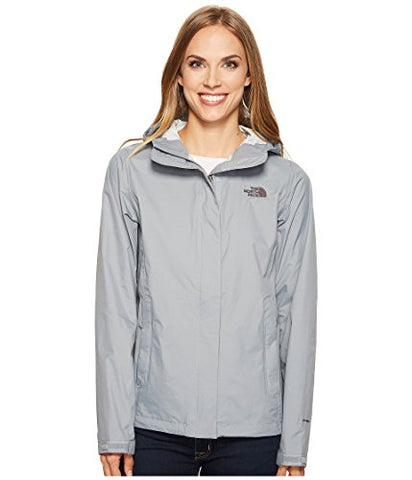 The North Face Women's Venture 2 Rain Jacket (X-Small, Mid Grey)