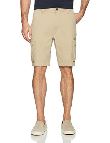 Amazon Essentials Men's Classic-Fit Cargo Short, Khaki, 38