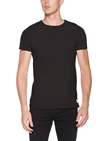 Scotch & Soda Men's Home Alone Classic Regular Fit Tee, Antra, Small