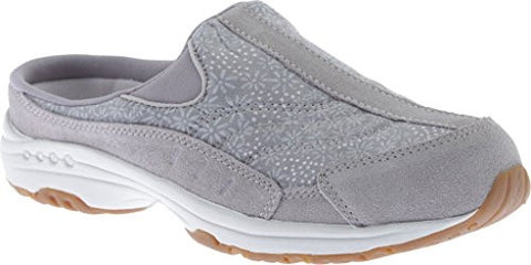 "Easy Spirit ""Traveltime"" Casual Shoes - Light Gray Floral 6.5 B(M) US"
