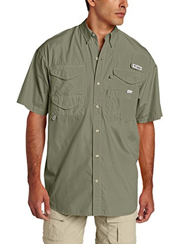 Columbia Men's Bonehead Short Sleeve Shirt, Cypress, X-Large