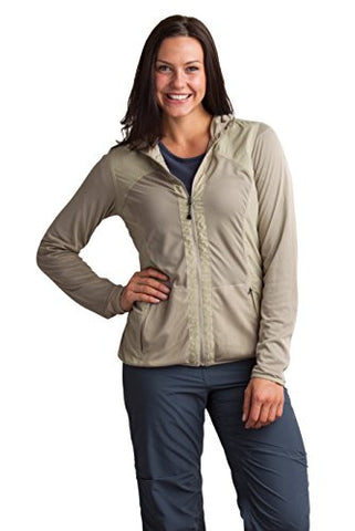 ExOfficio Women's BugsAway Damselfly Jacket, Tawny, Small