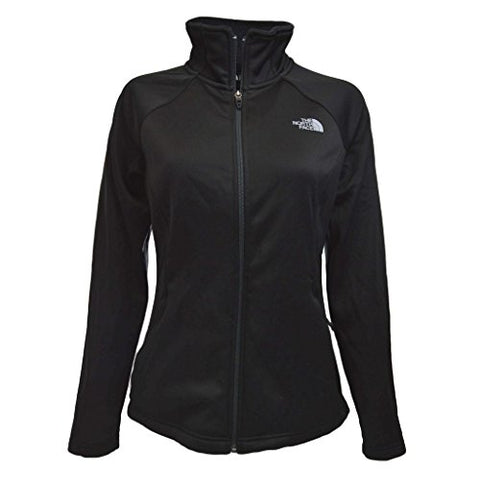 The North Face Women's Agave Full Zip Tnf Black Heather/Mid Grey (Prior Season) Sweatshirt