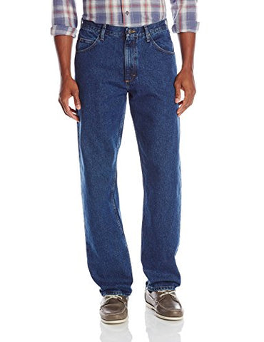 Wrangler Men's Big-Tall Authentics Classic Relaxed-Fit Jean, Dark Stonewash, 44x29