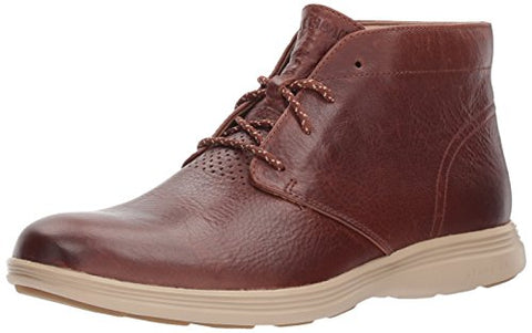 Cole Haan Men's Grand Tour Chukka Boot, Harvest Brown/Cobblestone, 10.5 Medium US