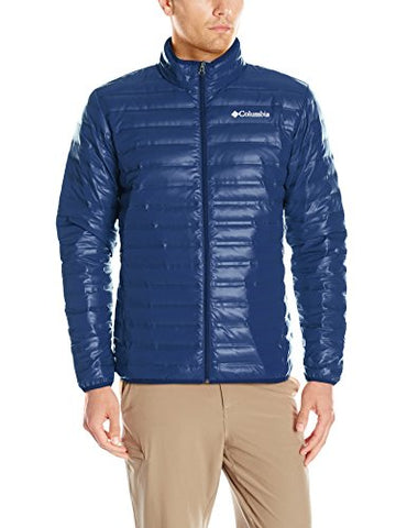 Columbia Men's Flash Forward Down Jacket, Collegiate Navy/Night Tide, Medium