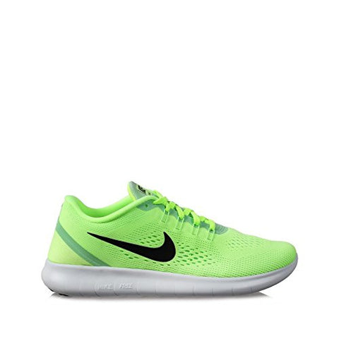 Nike Womens Free RN Running Shoes Ghost Green/Fresh Mint/Off White/Black 6.5 B(M) US
