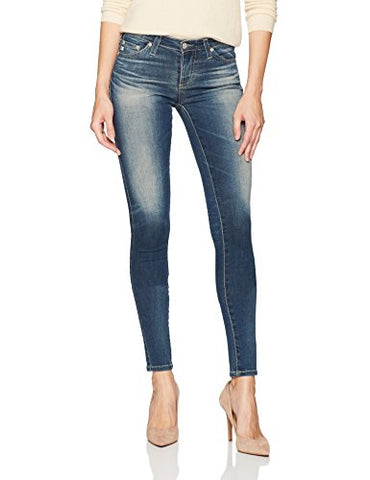 AG Adriano Goldschmied Women's the Legging Super Skinny Destructed Jean, 12 Years-Abide, 31