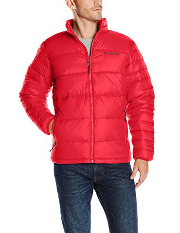 Columbia Men's Frost-Fighter Puffer Jacket, Mountain Red, XX-Large