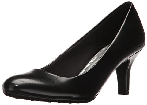 LifeStride Women's Parigi Pump, Black Kiddy, 8 W US