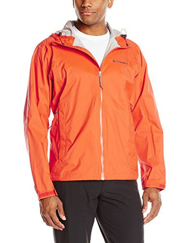 Columbia Men's Evaporation Jacket, Tangy Orange, Large