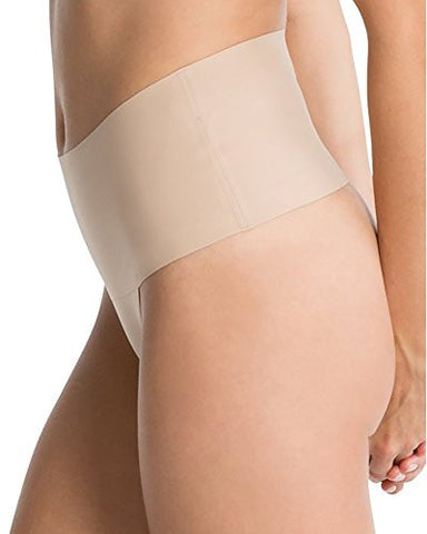 SPANX Undie-tectable Thong, XL, Soft Nude