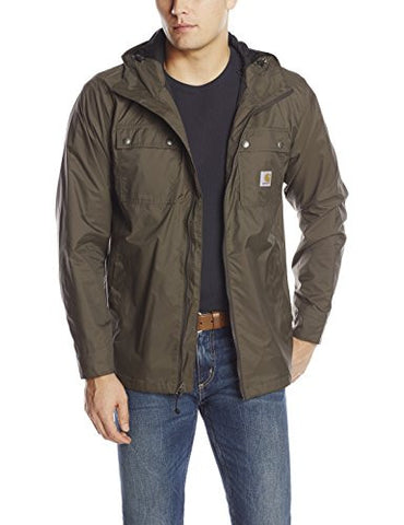 Carhartt Men's Rockford Rain Defender Jacket,Breen,Medium