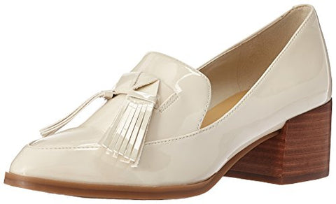 Marc Fisher Women's Phylicia Loafer, Ivory, 6.5 Medium US