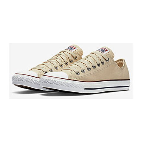 Converse Unisex Chuck Taylor All Star Low Top White Sneakers - 13 B(M) US Women / 11 D(M) US Men
