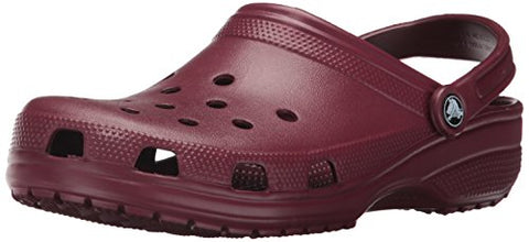 crocs Women's Classic Mule  Garnet - 8 B(M) US Women / 6 D(M) US Men