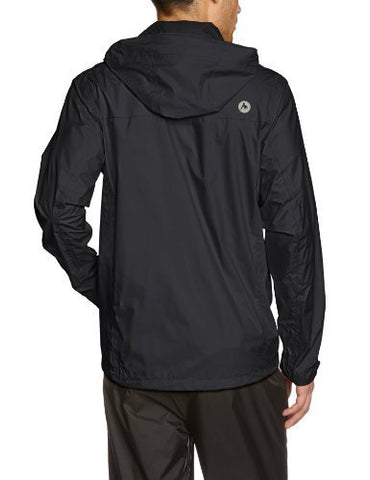 Marmot Men's PreCip  Jacket Black LG