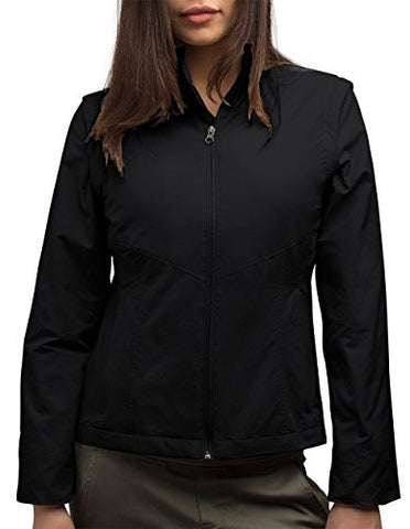 SCOTTeVEST Women's Sterling Jacket - 23 Pockets - Travel Clothing BLK XL
