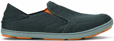OluKai Nohea Mesh Shoe - Men's Dark Shadow/Dark Shadow 10