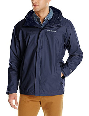 Columbia Men's Big & Tall Watertight II Packable Rain Jacket,Collegiate Navy,Tall/Large