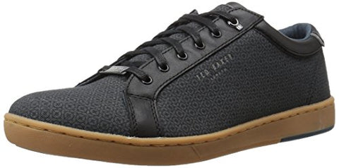 Ted Baker Men's Ternur Sneaker, Black/Multi, 13 M US