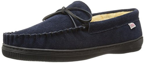 Tamarac by Slippers International Men's Camper Slip-On Loafer, Navy, 13 M US