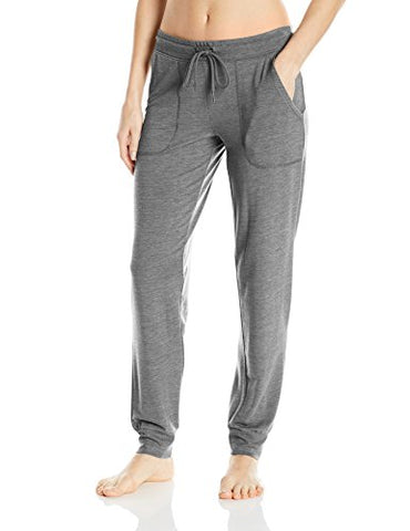 PJ Salvage Women's Lounge Essentials Pant, Heather Grey, S