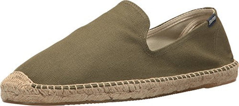 Soludos Men's Smoking Slipper Loafer, Camo Green, 9 M US