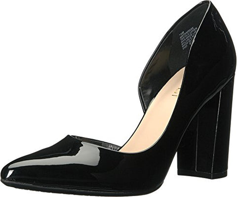 Nine West Women's ANISA9X Synthetic Pump, Black Synthetic, 6.5 M US