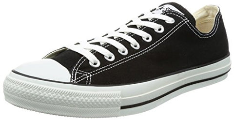 Converse Unisex Chuck Taylor All Star Low Top Black Sneakers - US Men 4.5 / US Women 6.5