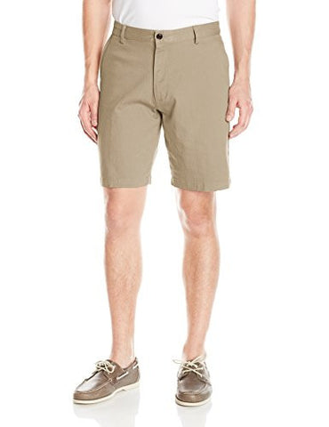 Dockers Men's Classic Fit Perfect Short D3, Sand Dune/Stretch, 36W