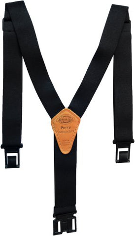 Dickies Men's Perry Suspender,Black,One Size