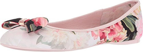 Ted Baker Women's Immep Ballet Flat, Painted Posie, 8.5 M US
