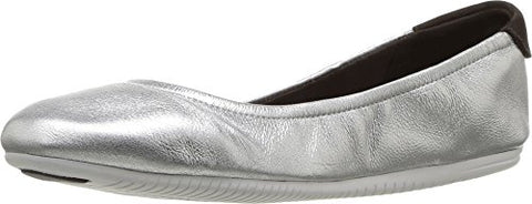 Cole Haan Women's Studiogrand Convertible Ballet Core, CH Argento Metallic, 8 B US