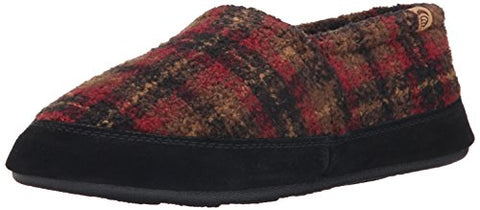 ACORN Men's Moc Loafer, Chutney Plaid, Large/10.5-11.5 M US