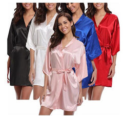 4Xl.Women'S Satin Wedding Kimono Bride Robe.Sleepwear Bridesmaid Robes Pajamas Bathrobe Nightgown Spa Bridal Robes Dressing Gown