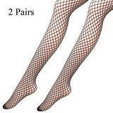 Akiido Fishnets Stockings 5 Pairs Patterned Pantyhose Black Tights for Women