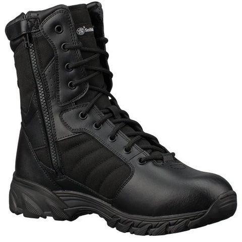 "Smith & Wesson Breach 2.0 Men's Tactical Side-Zip Boots (10.5, 9"" Black)"