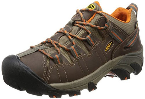 KEEN Men's Targhee II Hiking Shoe,  Bungie Cord/Burnt Orange - 11 D(M) US