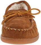 Minnetonka Men's 3902 Pile Hardsole Pile Lined Slipper,Brown,9 M US
