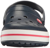 crocs Unisex Crocband Clog, Navy, 7 US Men / 9 US Women
