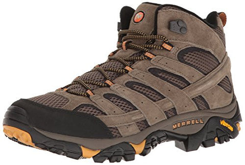 Merrell Men's Moab 2 Vent Mid Hiking Boot, Walnut, 9.5 M US